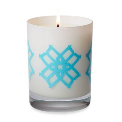 B by Brandie™ Edie's Black Currant Truman Candle in Turquoise