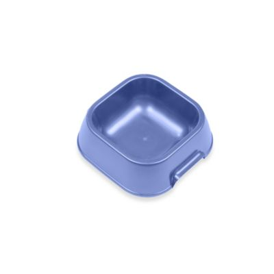 Van Ness™ Small Square Pet Dish in Blue