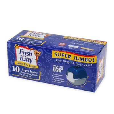 Fresh Kitty™ 10-Count Super Jumbo Liners