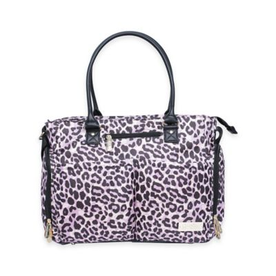 Jessica Simpson City Tote Diaper Bag in Leopard