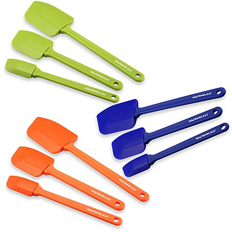 Rachael Ray Silicone Spatulas (Set of 3)