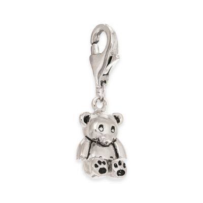 Personality Sterling Silver Teddy Bear Charm