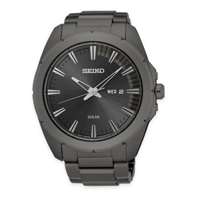 Gray Solar Watch