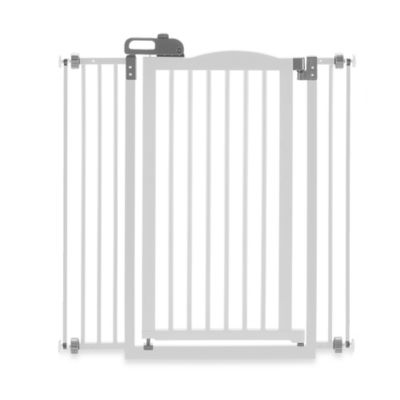 Richell® Tall One-Touch Gate II Pressure Mount Step-Through Pet Gate in White
