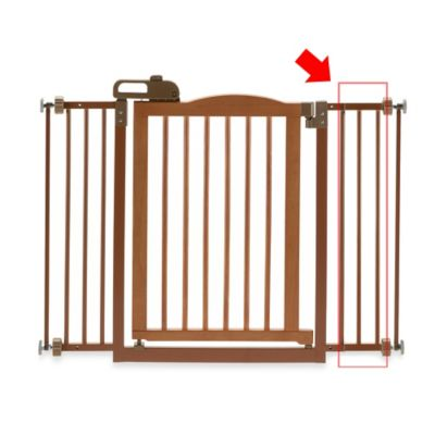 Richell® One-Touch Gate II Extension in Autumn