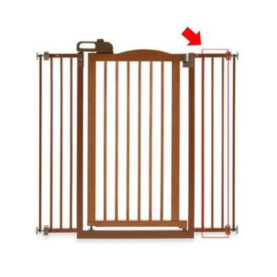 Richell® Tall One-Touch Gate II Extension in White