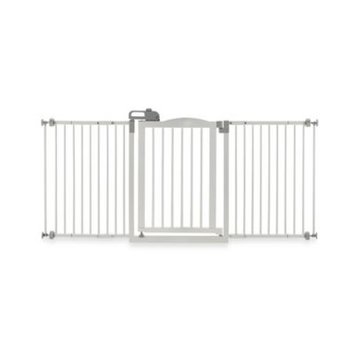 Richell® One-Touch Gate II Wide Pressure Mount Step-Through Pet Gate in Autumn