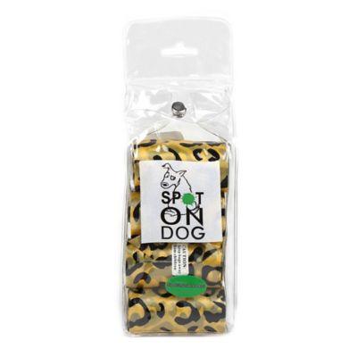 120-Pack Pet Waste Bags in Cheetah