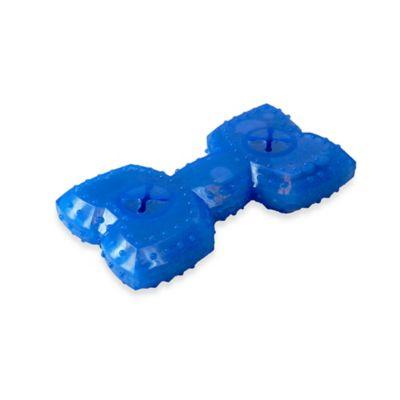 Arctic Freeze Bone Dog Toy in Blue