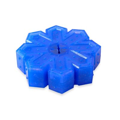 Arctic Freeze Snowflake Dog Toy in Blue
