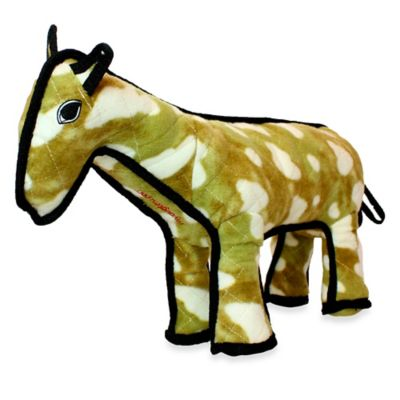 Horse Dog Toy in Brown