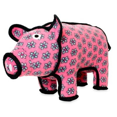 Tuffy® Polly the Pig Dog Toy in Pink