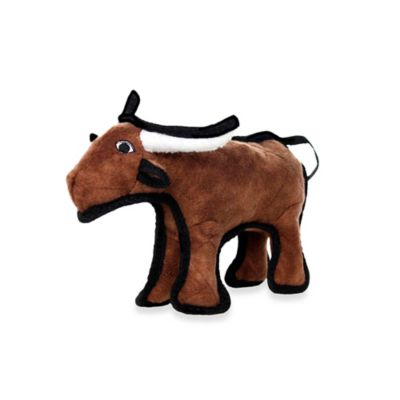 Tuffy® Junior Bull Dog Toy in Brown