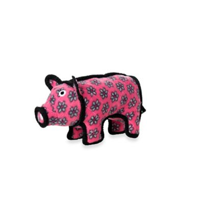Tuffy® Jr. Polly Pig Dog Toy in Pink