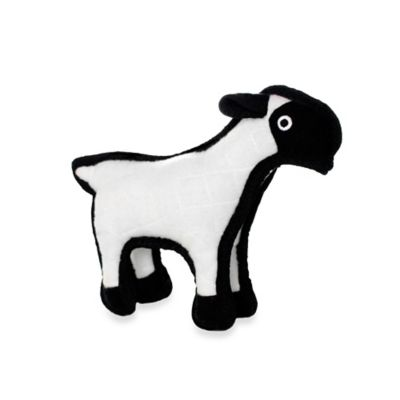 Tuffy® Junior Sheep Dog Toy in White/Black