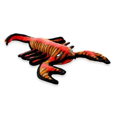 Tuffy® Desert Series Scorch the Scorpion Squeaker Dog Toy in Orange/Gold/Black