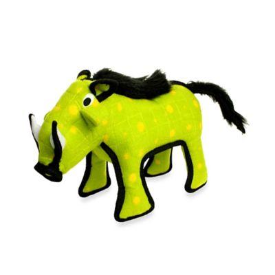Tuffy® Warthog Dog Toy in Green