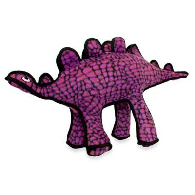 Tuffy® Studly the Stegosaurus Squeaker Dog Toy in Purple