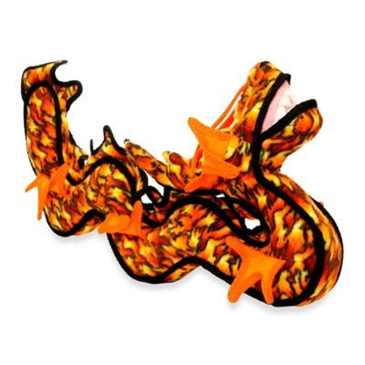Tuffy® Dragon Dog Toy in Orange/Black