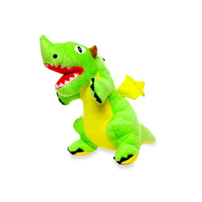Mighty® Pet Toys Jr. Dragon Squeaker Dog Toy in Green