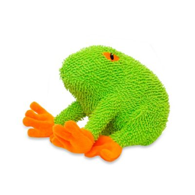 Mighty® Pet Toys Microfiber Frog Squeaker for Dogs in Green
