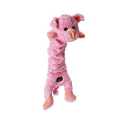 Mumbo Jumbos™ Pig Squeaker Dog Toy in Pink