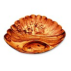 Acacia Wood 13-Inch Shell Chip N' Dip Tray