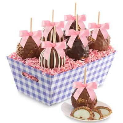 Mrs. Prindable's Springtime Caramel Apple 6-Piece Gift Tray
