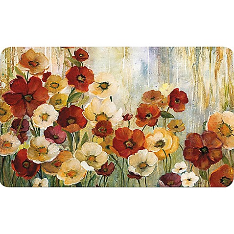 Home Dynamix Soothing Chef 36 Inch X 20 Inch Multi Poppy