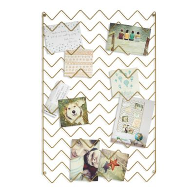 Umbra® Wave Photo Collage Frame in Nickel