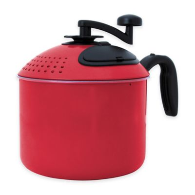 Mac Magic® 4 qt. Pasta Pot in Red