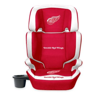 Lil Fan NHL Detroit Red Wings 2-in-1 High Back Booster Seat in Red