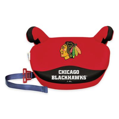 Lil Fan Slimline NHL Chicago Blackhawks No Back Booster Seat in Red
