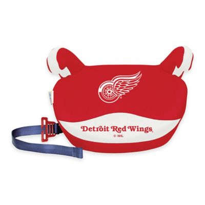 Lil Fan Slimline NHL Detroit Red Wings No Back Booster Seat in Red