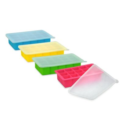 green sprouts® by i play.® Fresh Baby Food Freezer Tray in Yellow