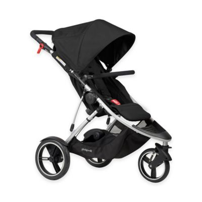 phil&ted's® Dash Inline Stroller in Black