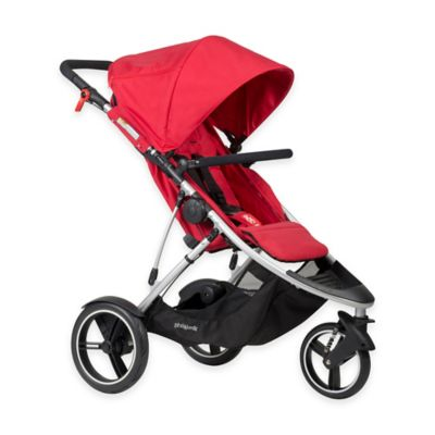 phil&teds® Dash Inline Stroller in Red