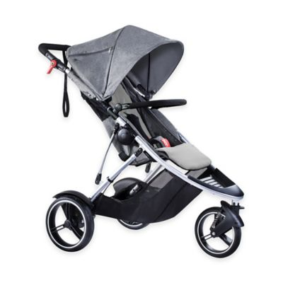 phil&teds® Dash Inline Stroller in Grey