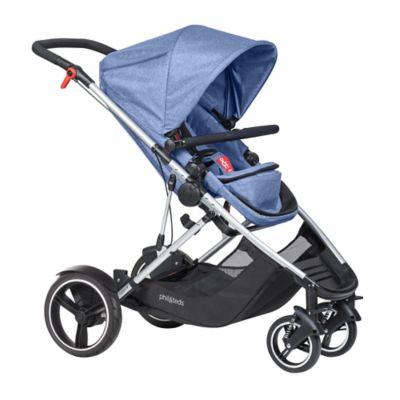 phil&teds® Voyager™ Inline Stroller in Blue
