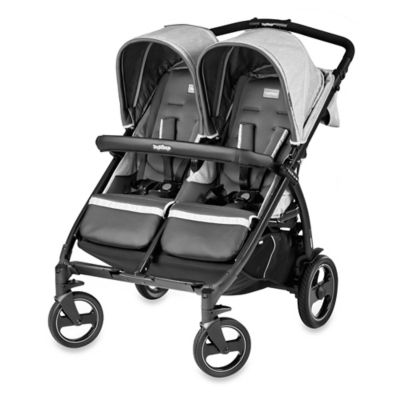 Peg Perego Book for Two Double Stroller in Atmosphere