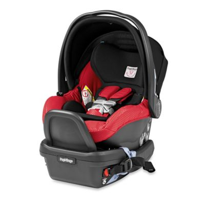 Peg Perego Primo Viaggio 4/35 Infant Car Seat in Mod Red