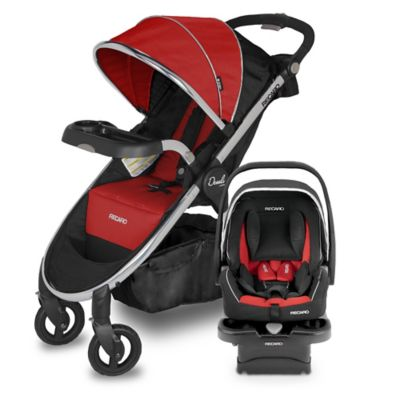 Recaro® Performance Denali Luxury Travel System in Scarlet