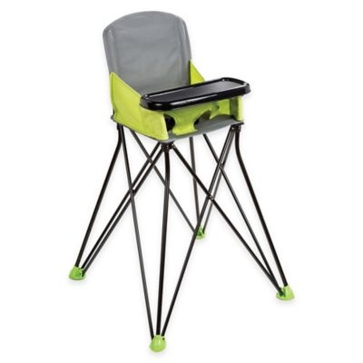 Grey Green High Chair