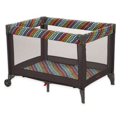 Cosco® Funsport® Playard in Rainbow Dots