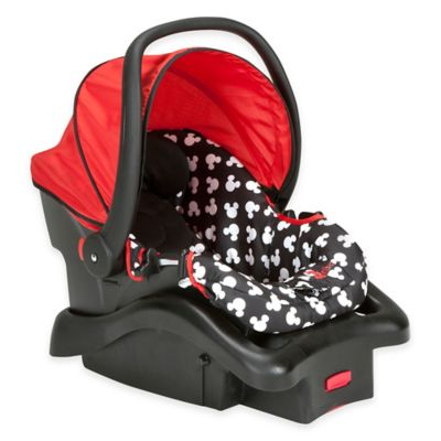 Disney® Light N Comfy Mickey Mouse Polka Dot Luxe Car Seat in Red