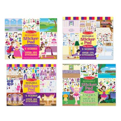 Melissa & Doug® Sticker Pad Play Bundle (Set of 4)
