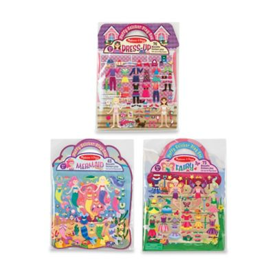 Puffy Sticker Dress-Up Bundle