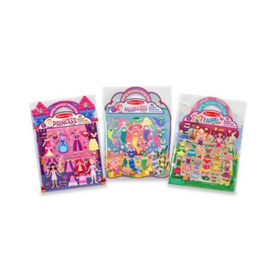 Melissa and Doug® Puffy Sticker Dress-Up Bundle (Set of 3)