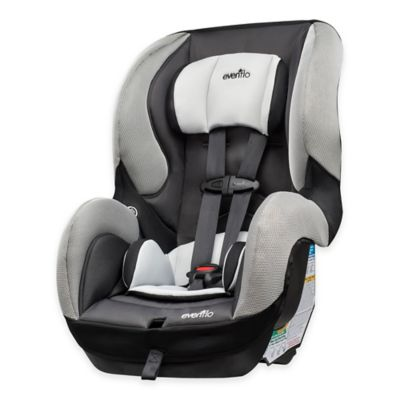 Evenflo® SureRide™ DLX Convertible Car Seat in Grey/Black