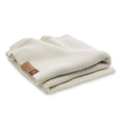 Bugaboo Soft Wool Blanket in Off White Melange